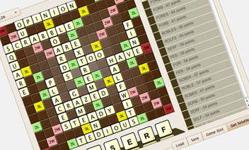 Scrabble Solver Screenshot
